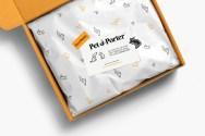 Айдентика, сайт и упаковка премиального зоомагазина-салона для животных Pet-à-Porter