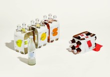 Дизайн бутылок и этикеток диетической содовой StrangeLove Lo-cal Soda