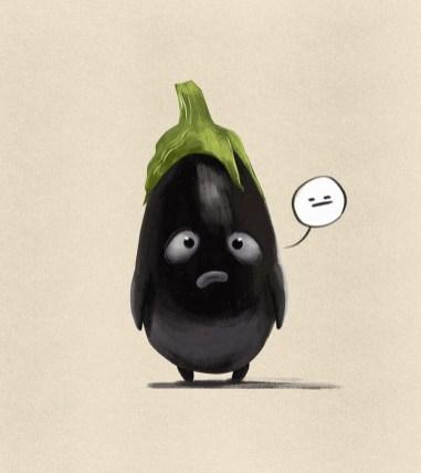 Милейшие овощи детского иллюстратора Алессандро Пастори из Бельгии