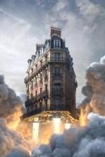 Оригинальные и живописные работы парижского 3D-художника Жана-Мишеля Биореля