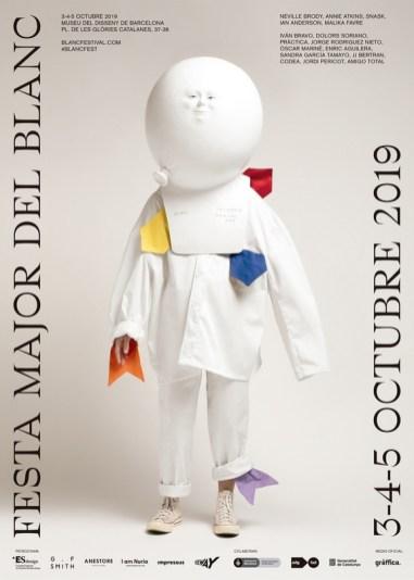 Афиши 11-го Blanс Festival — дизайн-фестиваля в барселонском Музее Дизайна