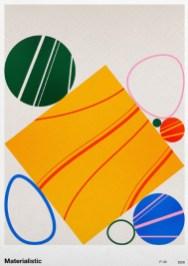 Серия ярких экспериментальных плакатов нидерландского графического дизайнера Джерри Ли Босманса