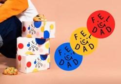 Айдентика кондитерской Felicidad в Колумбии