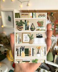 Бумажные миниатюрные растения и букеты Татьяны Лиссовой