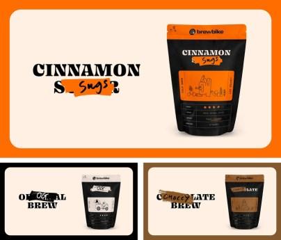 Обновление айдентики американского производителя холодных кофейных напитков Brewbike