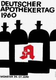 10 плакатов известного немецкого дизайнера Ханса Хиллмана (1925–2014)