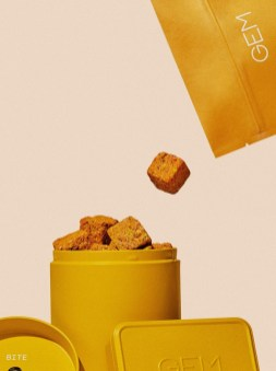 Стиль и упаковка GEM — марки витаминизированных снеков для здорового питания