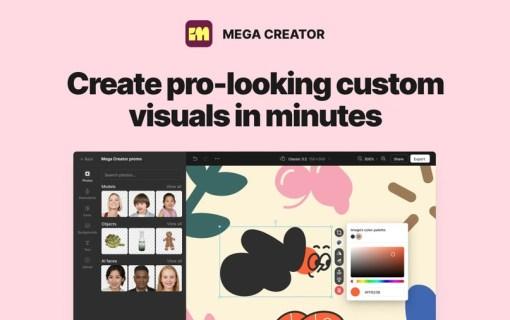 Mega Creator — вся коллекция Icons8 в одном приложении