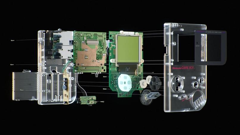 Loveletter — впечатляющий персональный проект немецкого художника Рафаэля Рау, в котором он попытался создать современное 3D-промо для винтажной портативной приставки Nintendo Game Boy