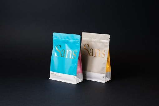 Роскошный минимализм в дизайне упаковок марки чая Sans & Sans