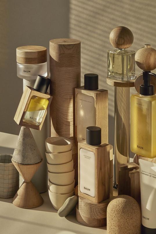 Баночки и флаконы парфюма BAUM Forest