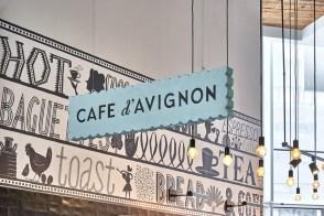 Рестайлинг кафе-кондитерских Café d'Avignon
