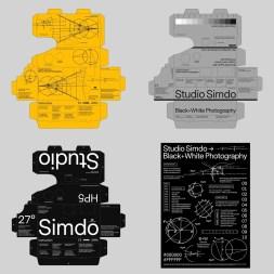 Графика сеульского дизайнера Джехун Чоя, вдохновлённая технической эстетикой 21 века и сочетающая абстрактные формы со строгими системами сеток и типографики