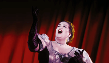 Female opera singer