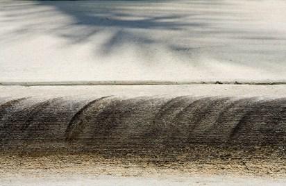 shadow over wheatfields
