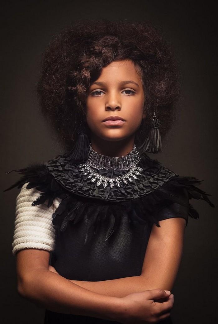 Ensaio fotográfico para ressaltar a beleza do cabelo afro 10