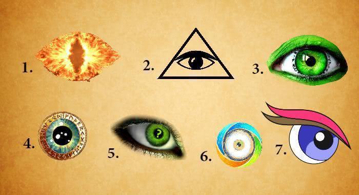 Escolha um olho e veja o que seu subconsciente revela sobre você