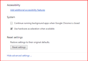 background apps chrome closed setting