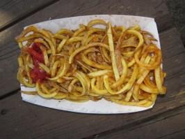 Mmmmm - curly fries!