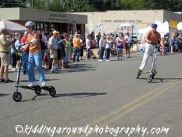 The Carters kick off the Main Street Parade
