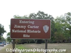 Jimmy Carter NHS Sign