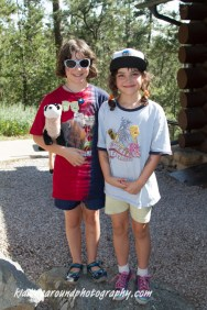 They got Junior Ranger badges at Devil's Tower! Way to go J & E