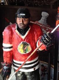 Sweet hockey player