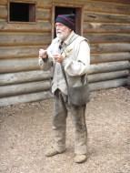 Interpreter in authentic garb