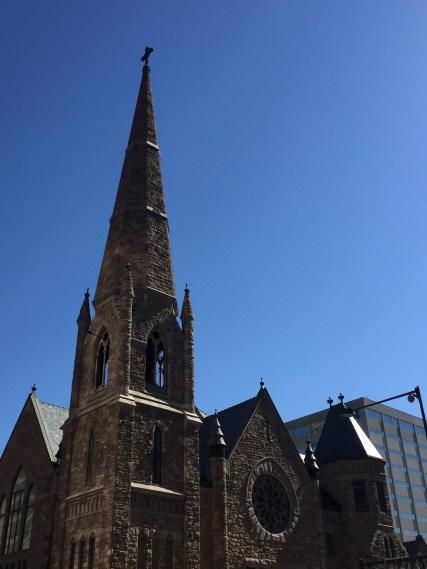 Denver church running