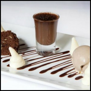 A heavenly chocolate dessert