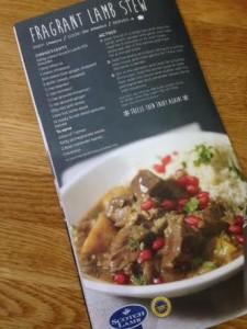 comfort food booklet