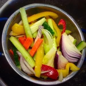 salted veg
