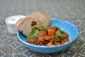 Slow cooked spiced mutton shoulder with ginger and sweet potato. pic Iain Gillon