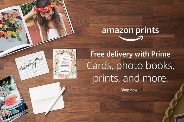 Amazon Prints, Photo Printing Made Easy – Plus $1000 in gift cards to be won!