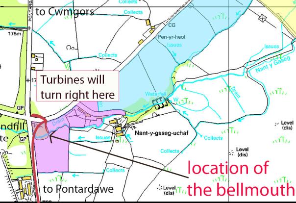 Map: wythnos 1