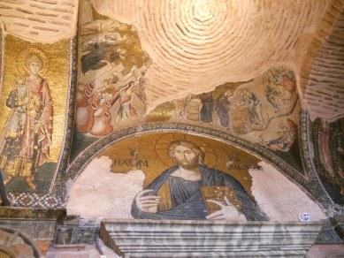 Mosaic at the Moni tis Choras