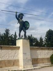 The great Leonidas at Thermopylae