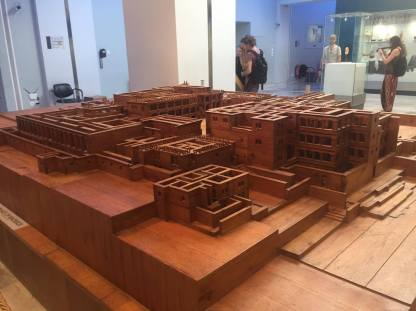 Amazing wooden model of Knossos