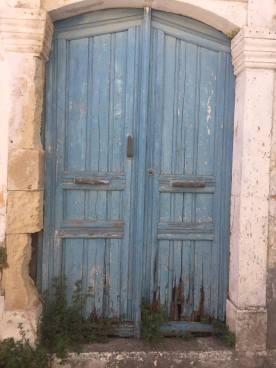 Weathered door in Margarites village