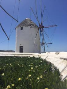 The windmills at Mykonos