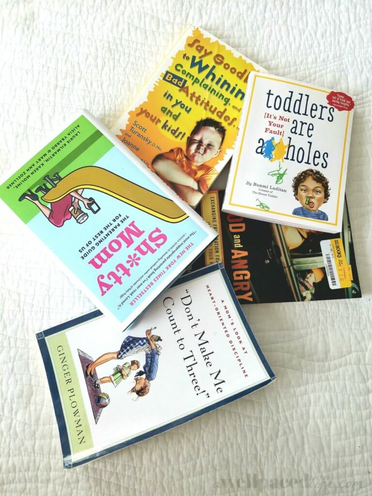 Amazing parenting books I've read and the ones I want to