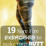 19 sure fire exercises to make your butt look like a peach