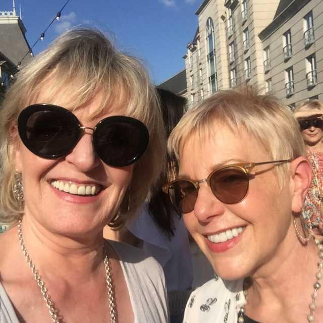Jennifer Connolly and Susan Blakey