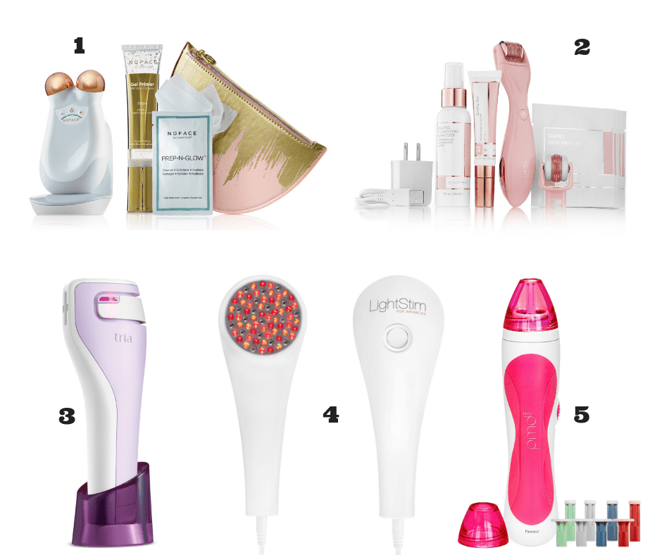 at home beauty gadgets on a well styled life
