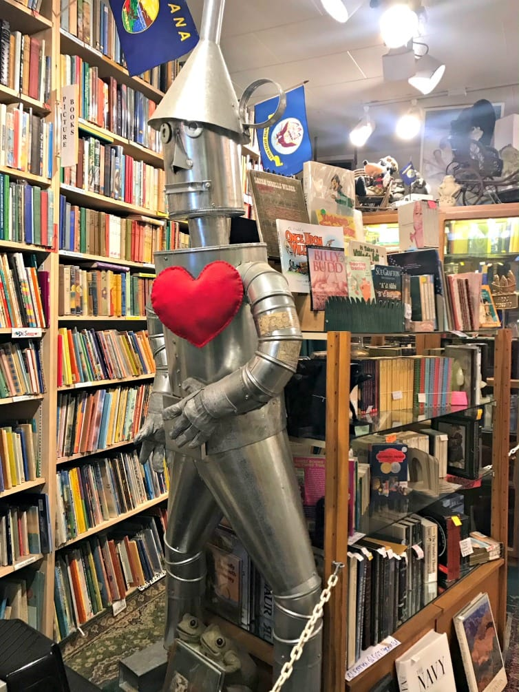 used bookshop in Nevada City
