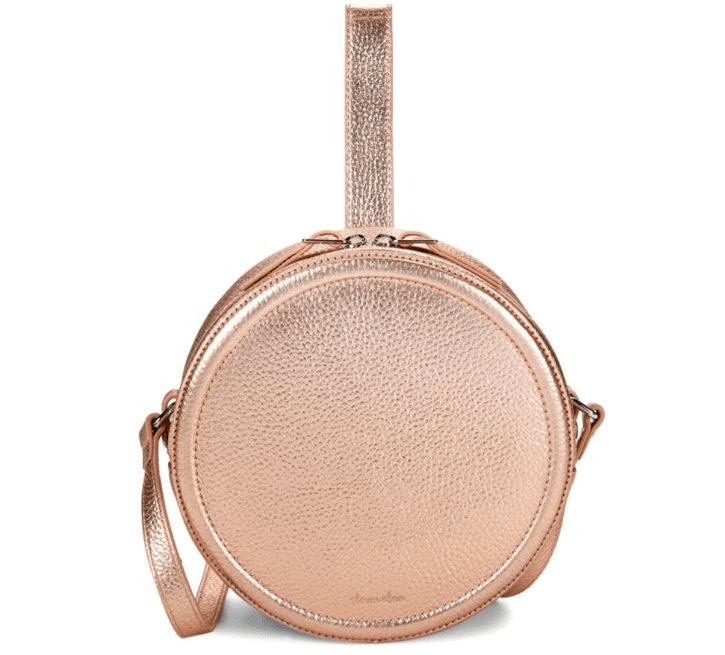 Rose Gold handbag from Saks Off 5th on A Well Styled Life