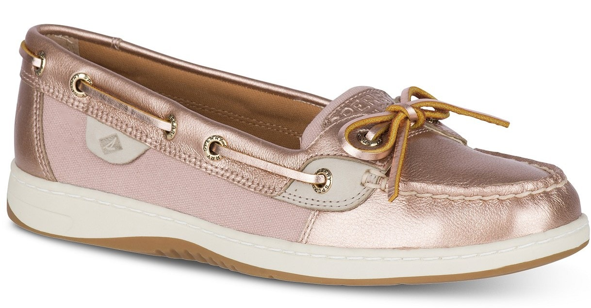 Rose Gold Sperry Topsider on A Well Styled Life