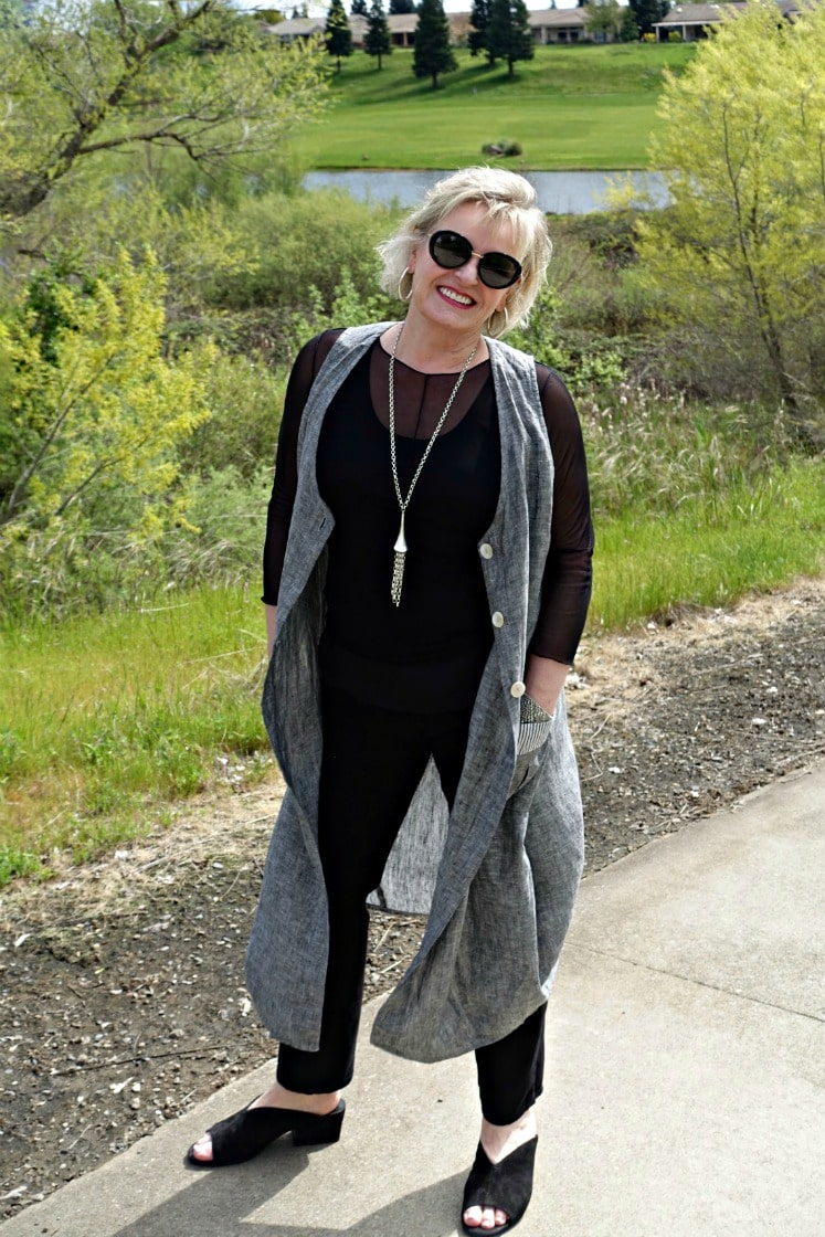 Hanover vest on jennifer connolly of a well styled life
