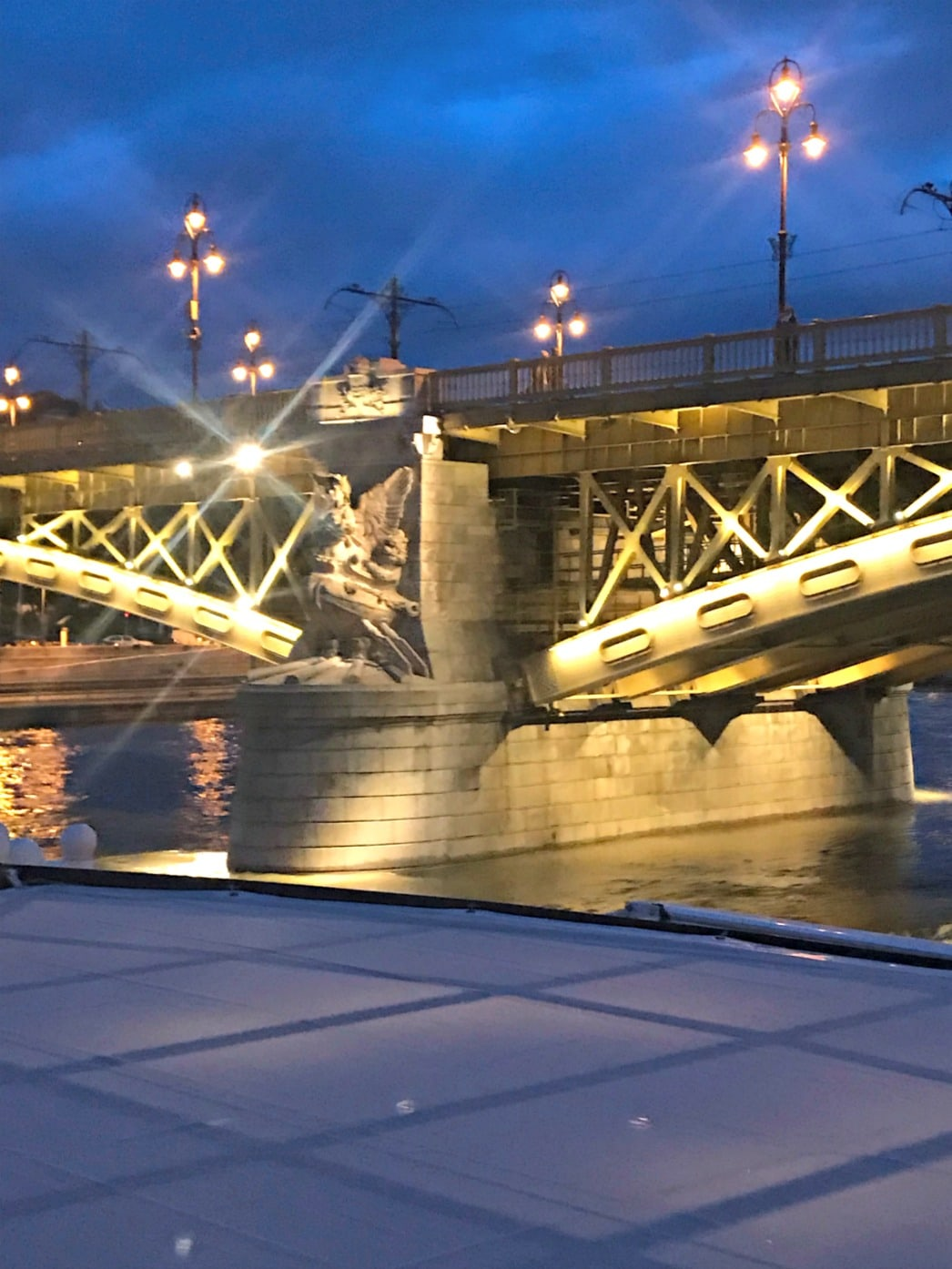 low bridge in budapest