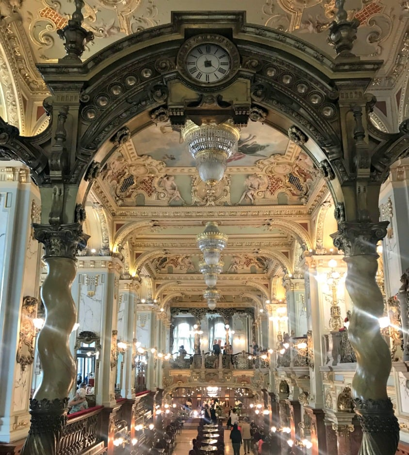 New York Cafe in Budapest